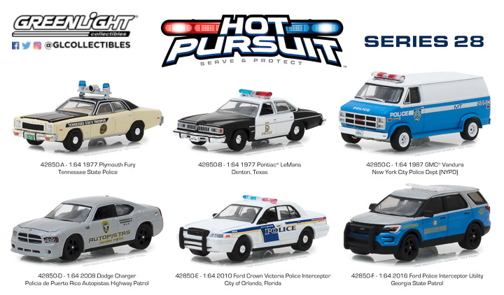 42850 - 1:64 Hot Pursuit Series 28
