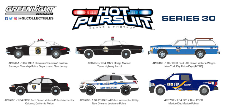 42870 - 1:64 Hot Pursuit Series 30