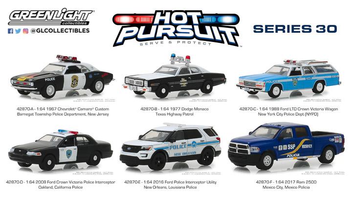 42870 - 1:64 Hot Pursuit Series 30