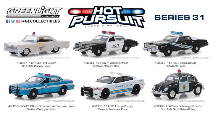 42880 - 1:64 Hot Pursuit Series 31