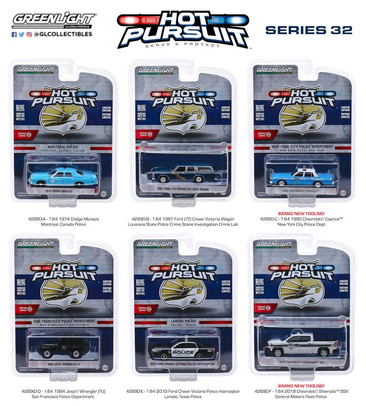 42890 - 1:64 Hot Pursuit Series 32