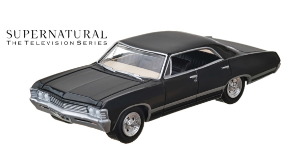 44692 - 1:64 Supernatural (2005-Current TV Series) - 1967 Chevrolet Impala Sedan