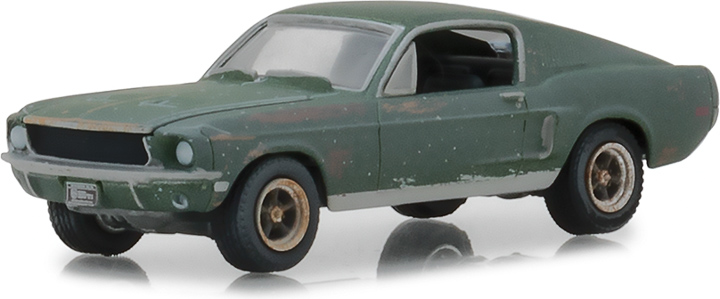 1:64 Unrestored 1968 Ford Mustang GT Fastback - 2018 Detroit Auto Show