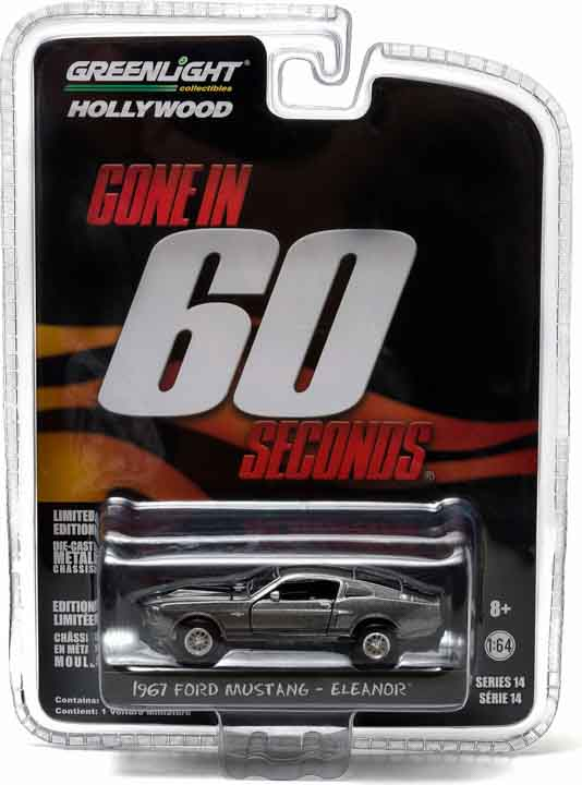 "1:64 1967 Ford Mustang ""Eleanor"""