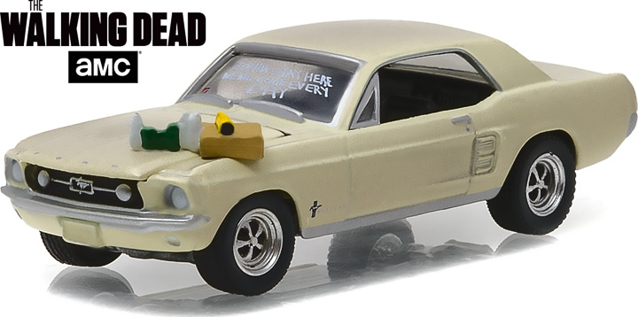 44750-E - 1:64 Hollywood Series 15 - 1967 Ford Mustang Coupe Soph