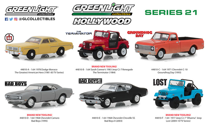 44810 - 1:64 Hollywood Series 21