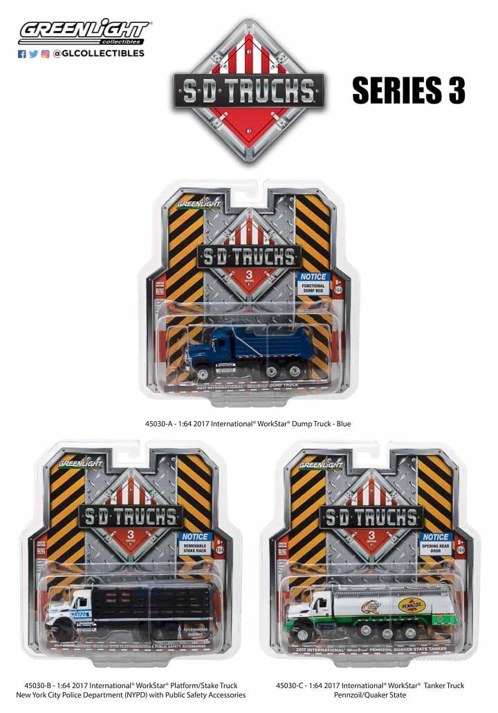 45030 - 1:64 S.D. Trucks Series 3