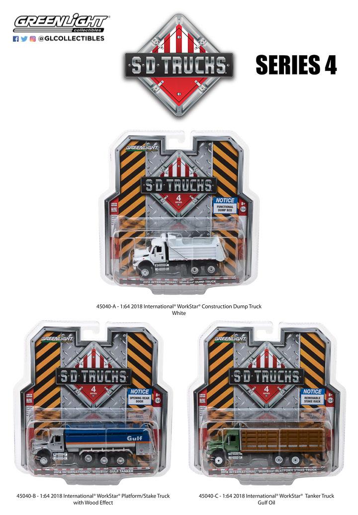 45040 - 1:64 S.D. Trucks Series 4