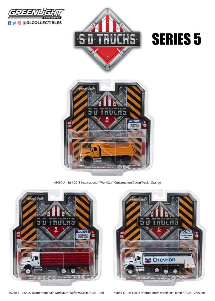 45050 - 1:64 S.D. Trucks Series 5
