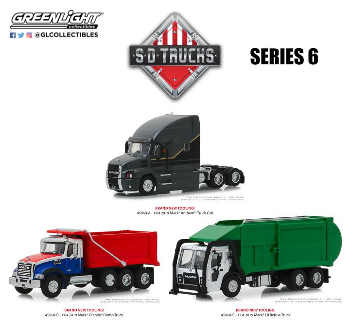 45060 - 1:64 S.D. Trucks Series 6