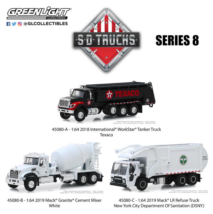 45080 - 1:64 S.D. Trucks Series 8
