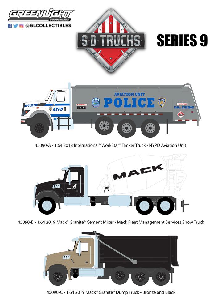 45090 - 1:64 S.D. Trucks Series 9