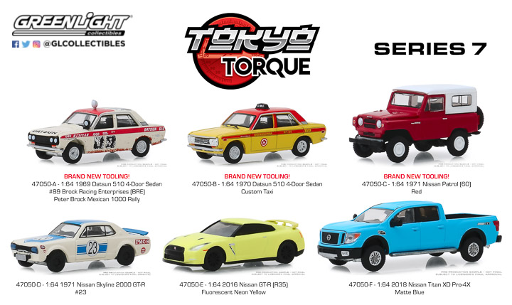 47050 - Tokyo Torque - Series 7