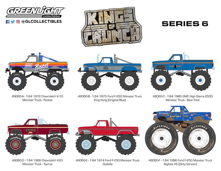 49060 - 1:64 Kings of Crunch Series 6