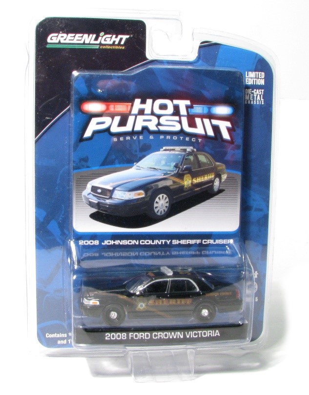 Item #50773 – 1:64 Ford Crown Victoria – #331 for Johnson County, Kansas Sheriff