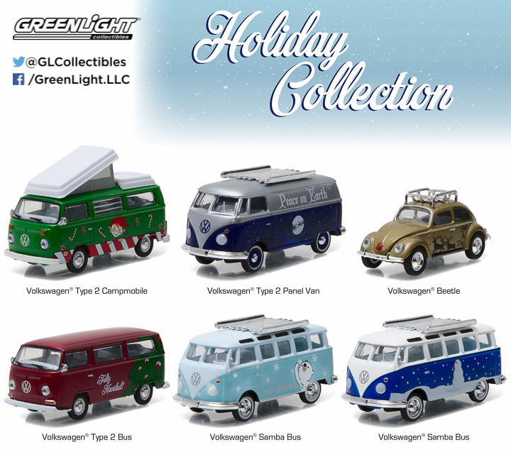 51077 - 1:64 GreenLight 2016 Holiday Collection