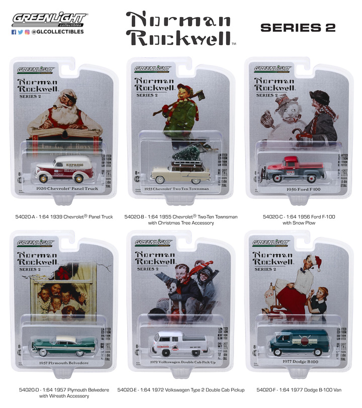 54020 - Norman Rockwell Delivery Vehicles Series 2