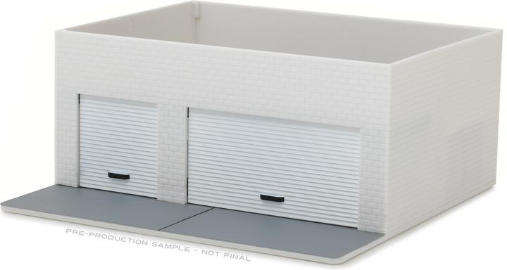 1:64 Mechanic's Corner - Weekend Workshop - Plain White