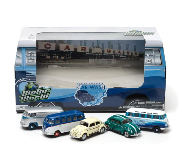 1:64 MotorWorld Diorama - 70's Car Wash