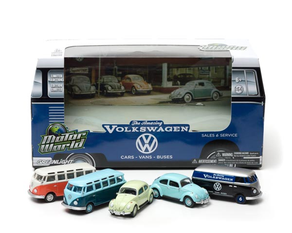 1:64 MotorWorld Diorama - 60's Car Dealership