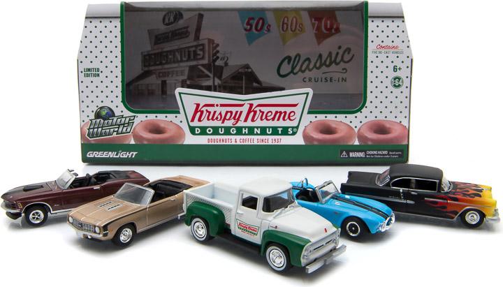 1:64 MotorWorld Diorama - Krispy Kreme Donut Shop/Box