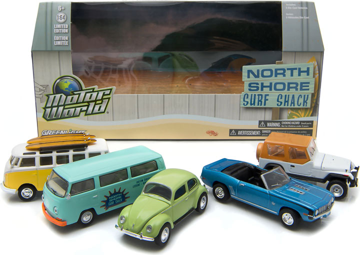 1:64 MotorWorld Diorama - North Shore Surf Shack