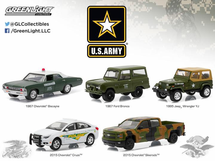 1:64 MotorWorld Diorama - U.S. Army Base