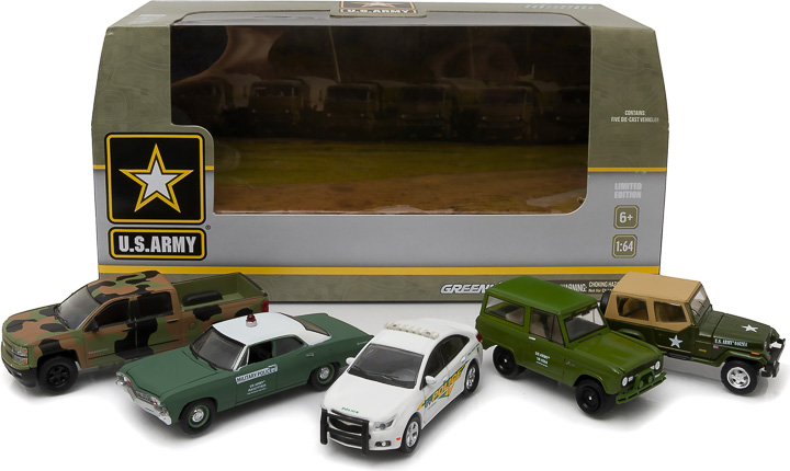 1:64 MotorWorld Diorama - U.S. Army Base