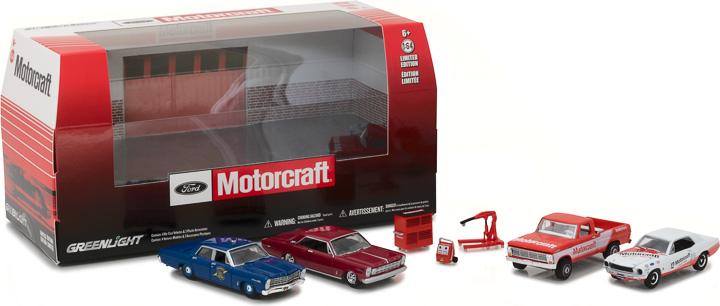 58040 - 1:64 Multi-Car Dioramas - Ford Motorcraft Garage