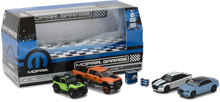 58041 - 1:64 Multi-Car Dioramas - MOPAR Garage