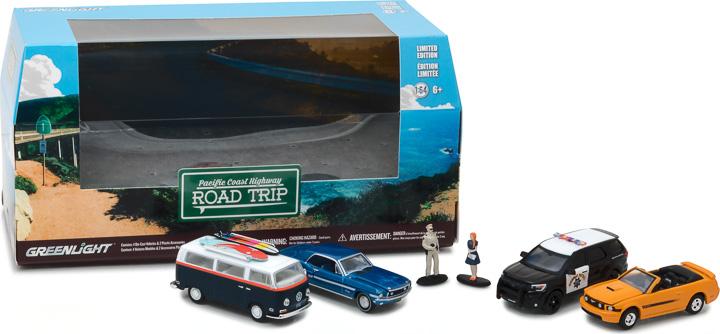 58043 - 1:64 Multi-Car Dioramas - Pacific Coast Highway Road Trip