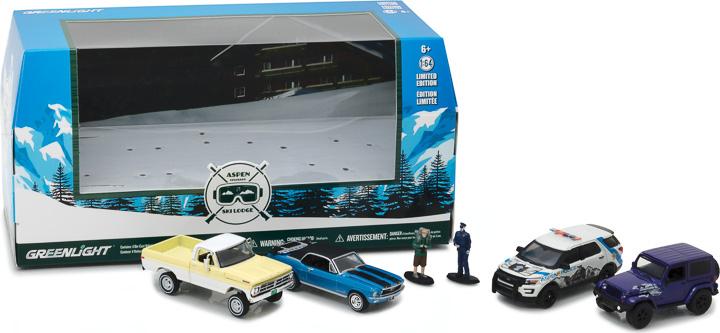 58044 - 1:64 Multi-Car Dioramas - Aspen, Colorado Ski Lodge