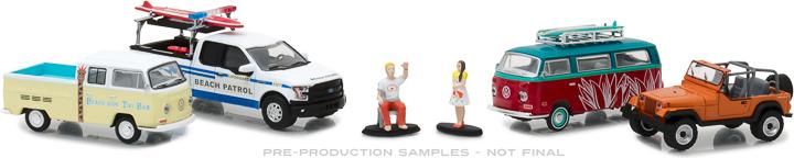 58047 - 1:64 Multi-Car Dioramas - Spring Break Road Trip