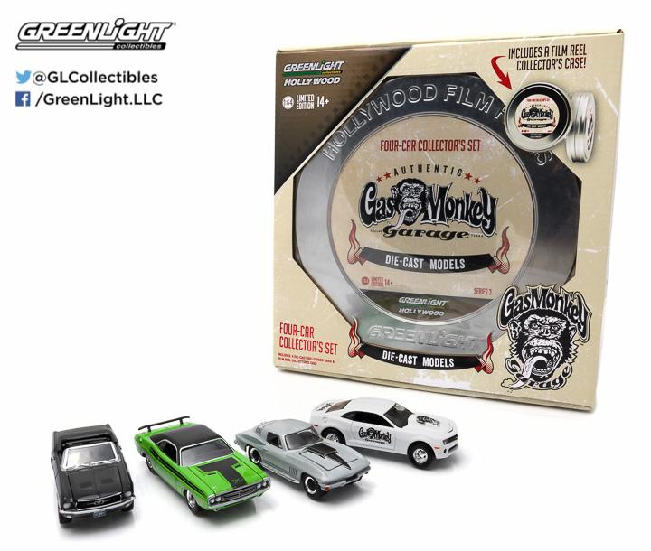 59030-B  - 1:64 Hollywood Film Reels Series 3 - Gas Monkey Garage