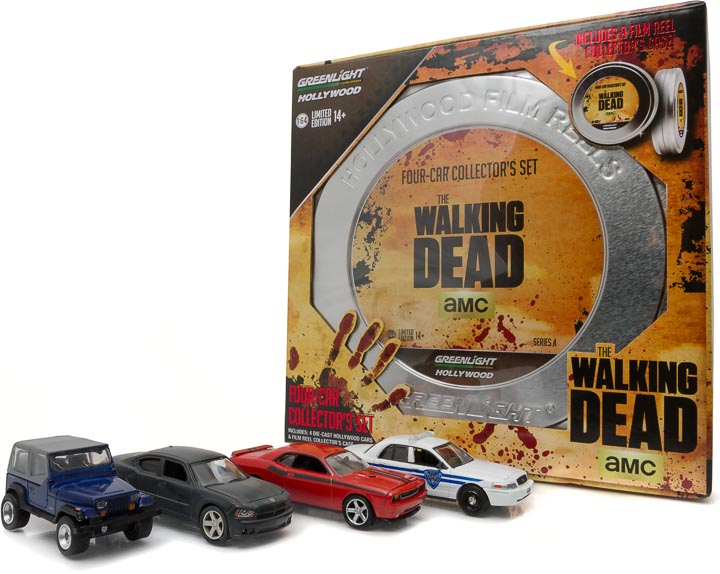 59040-B 1:64  Hollywood Film Reels Series 4 - The Walking Dead (2010-Current TV Series)