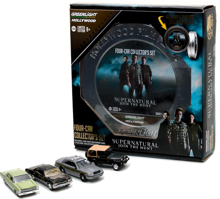 59050-A - 1:64 Hollywood Film Reels Series 5 - Supernatural (2005-Current TV Series) Season 3-10 Edition