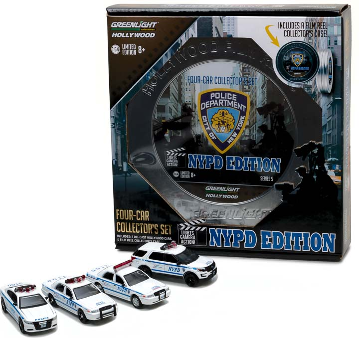 1:64 Hollywood Film Reels Series 5 - NYPD Behind the Scenes Movie Set