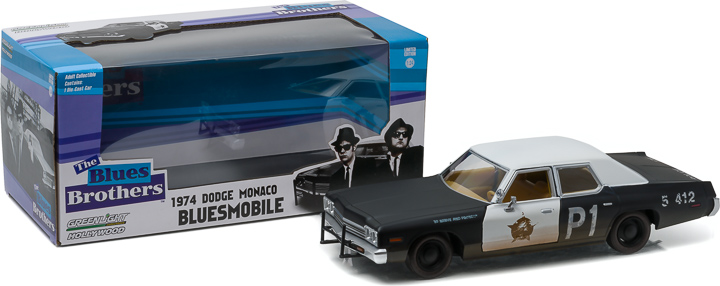 84011 - 1:24 Blues Brothers (1980) - 1974 Dodge Monaco