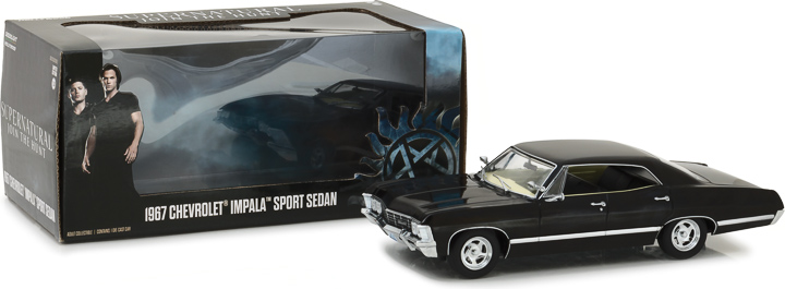 84032 - 1:24 Supernatural (2005-Current TV Series) - 1967 Chevrolet Impala Sport Sedan