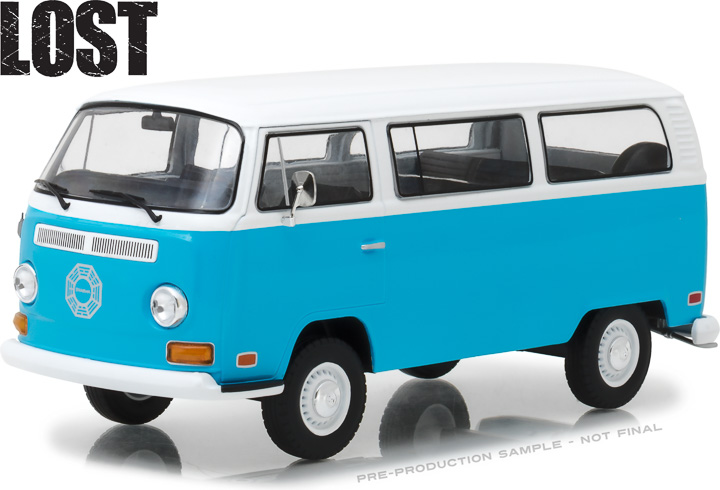 84033 - 1:24 Lost (TV Series, 2004-10) - 1971 Volkswagen Type 2 (T2B) Dharma Van