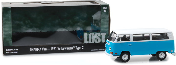 84033 - 1:24 Lost (TV Series, 2004-10) - 1971 Volkswagen Type 2 (T2B) Dharma Van