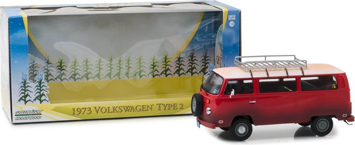 84034 - 1:24 Field of Dreams (1989) - 1973 Volkswagen Type 2 (T2B) Bus