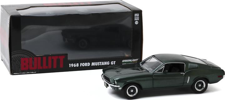 84041 - 1:24 Bullitt (1968) - 1968 Ford Mustang GT Fastback