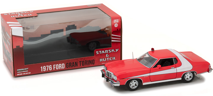 84042 - 1:24 Starsky and Hutch (TV Series 1975-79) - 1976 Ford Gran Torino