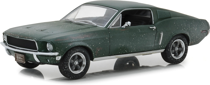 1:24 Unrestored 1968 Ford Mustang GT Fastback - 2018 Detroit Auto Show