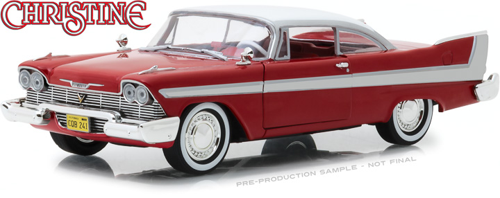84071 - 1:24 Christine (1983) - 1958 Plymouth Fury