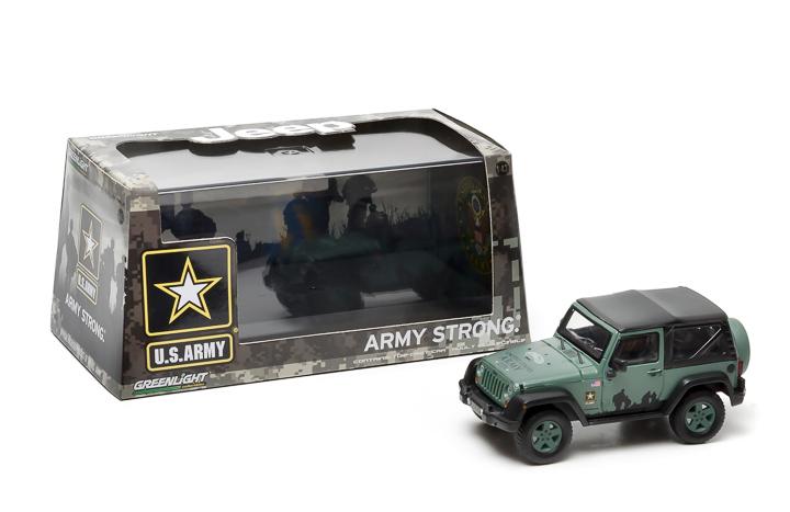 1:43 2012 Jeep Wrangler - US Army