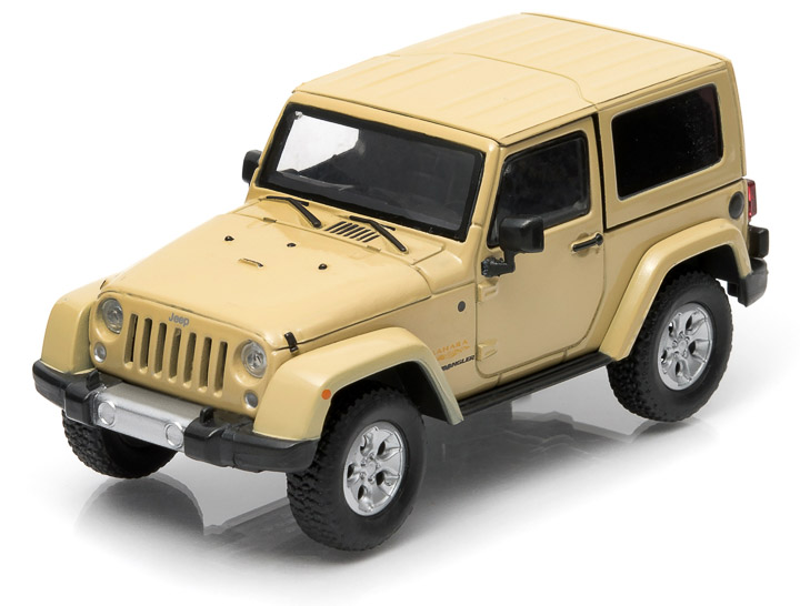 1:43 2014 Jeep Wrangler Sahara Edition - Dune Clear Coat