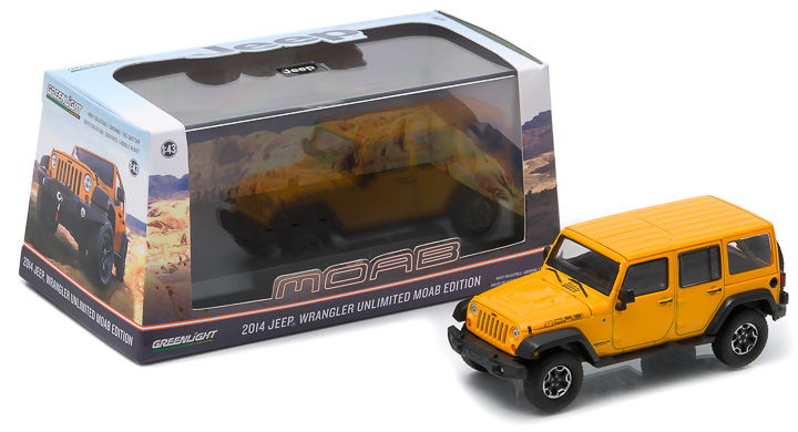 1:43 2013 Jeep Wrangler Unlimited - Moab Edition
