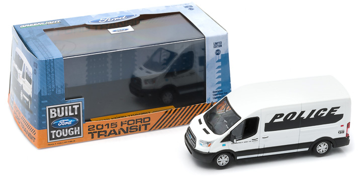 1:43 2015 Ford Transit (V363) - Police Prisoner Transport Vehicle